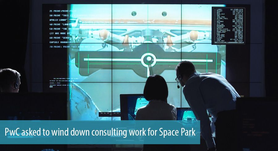 PwC asked to wind down consulting work for Space Park