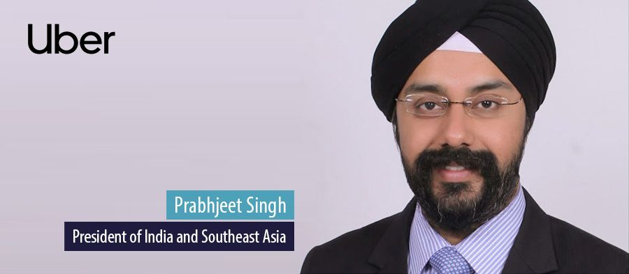 Prabhjeet Singh, President of India and Southeast Asia, Uber