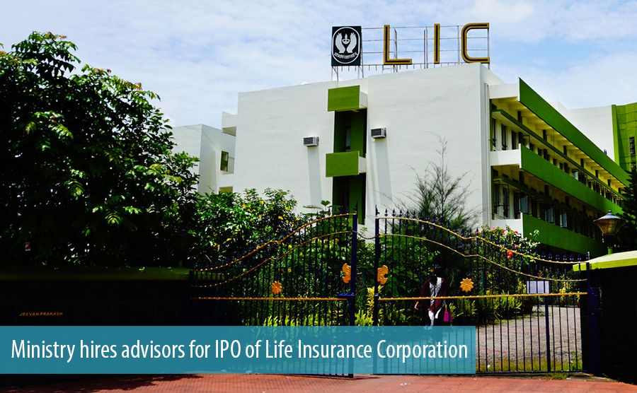 Ministry hires advisors for IPO of Life Insurance Corporation