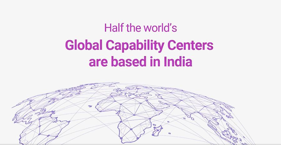 Half of Global Capability Centers are based in India