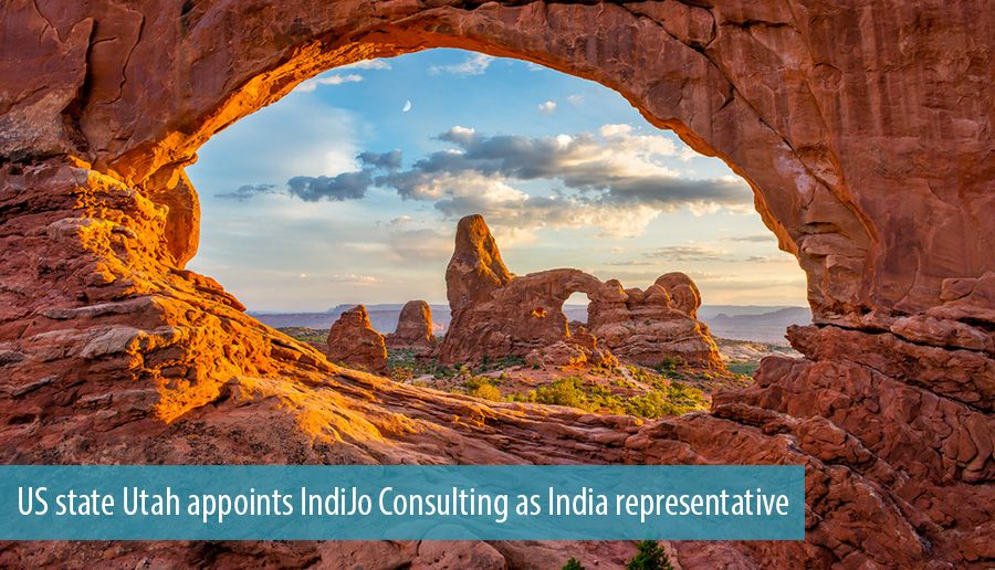 US state Utah appoints IndiJo Consulting as India representative