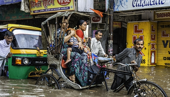 Persistent floods cost India billions in uninsured losses