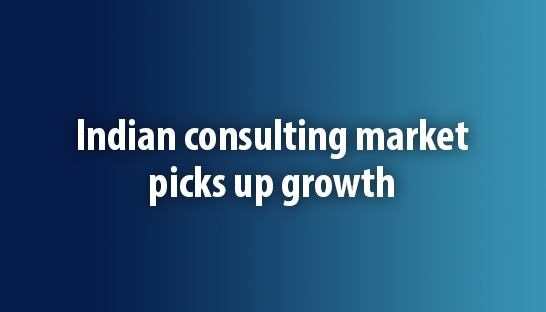 Indian business and management consulting market picks up growth