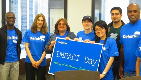 Deloitte Impact Day in India supports 175 projects in 12 cities