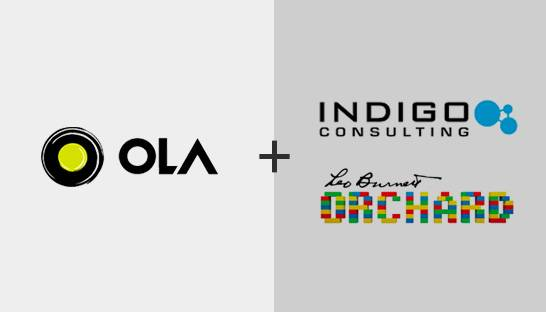 Ola appoints Indigo Consulting and Leo Burnett Orchard as branding consultants