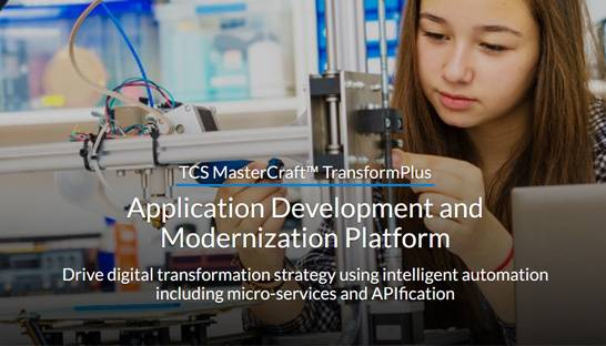 TCS launches upgrade of its MasterCraft TransformPlus tech integration platform
