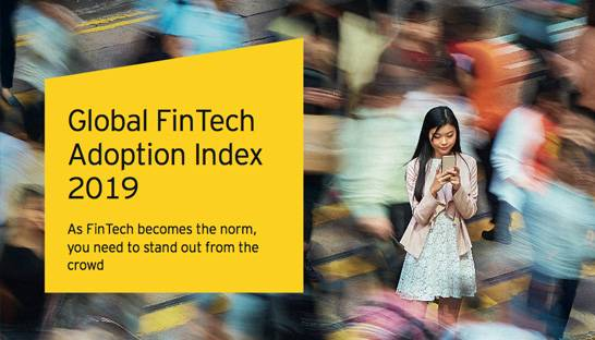 Indians are the globe's top adopters of FinTech products and services