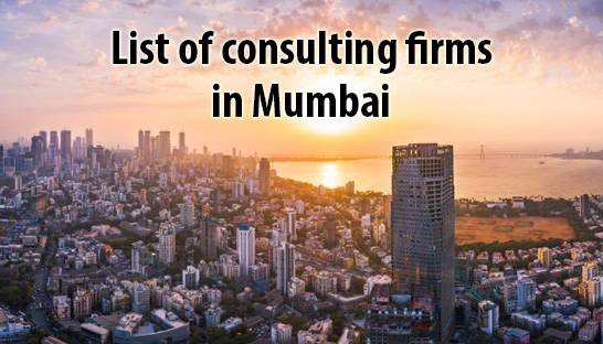 List of consulting firms in Mumbai, India