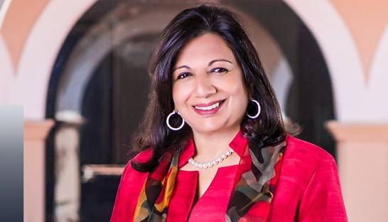 Kiran Mazumdar-Shaw named world's top entrepreneur by EY
