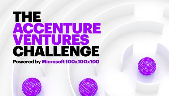 Accenture and Microsoft to hold startup contest in August