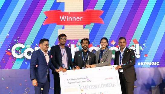 Indian students win prestigious KPMG Ideation Challenge